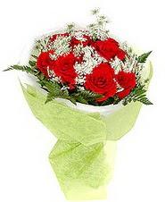 Artvin çiçek , çiçekçi , çiçekçilik  7 adet kirmizi gül buketi tanzimi