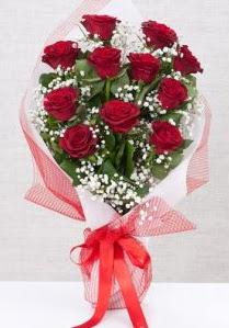11 kırmızı gülden buket çiçeği  Artvin 14 şubat sevgililer günü çiçek