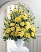 Artvin çiçek siparişi sitesi  sari güllerden sebboy tanzim çiçek siparisi