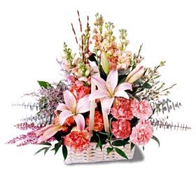 Artvin çiçek siparişi sitesi  mevsim çiçekleri sepeti özel tanzim