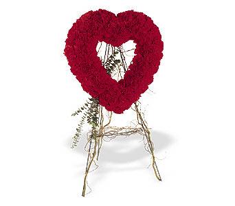 Artvin internetten çiçek satışı  karanfillerden kalp pano