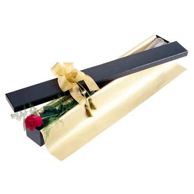 Artvin uluslararası çiçek gönderme  tek kutu gül özel kutu