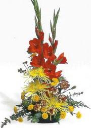 Artvin hediye sevgilime hediye çiçek  glayör ve mevsim çiçekleri