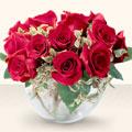 Artvin çiçek online çiçek siparişi  mika yada cam içerisinde 10 gül - sevenler için ideal seçim -