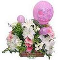 balon ve çiçeklerle tanzim  Artvin internetten çiçek satışı
