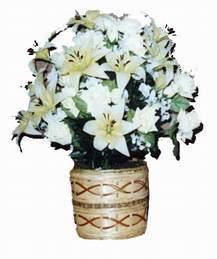 yapay karisik çiçek sepeti   Artvin çiçek mağazası , çiçekçi adresleri