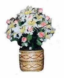 yapay karisik çiçek sepeti   Artvin çiçek servisi , çiçekçi adresleri