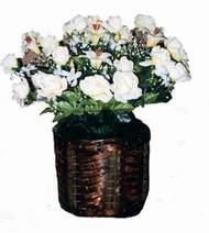 yapay karisik çiçek sepeti   Artvin cicek , cicekci