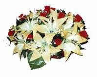 yapay karisik çiçek sepeti   Artvin internetten çiçek siparişi