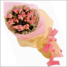 11 adet pembe güllerden   Artvin çiçekçi mağazası