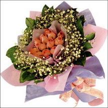 11  adet  gül ve   elyaflar   Artvin çiçekçi mağazası