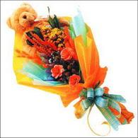 ayicik gül ve kir çiçekleri   Artvin çiçekçi mağazası