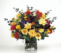 vazoda karisik  çiçekler  çiçekligi   Artvin çiçek gönderme sitemiz güvenlidir