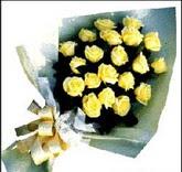 sari güllerden sade buket  Artvin çiçek , çiçekçi , çiçekçilik