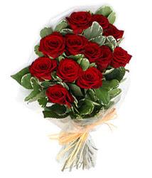 Artvin çiçek yolla , çiçek gönder , çiçekçi   9 lu kirmizi gül buketi.