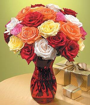 Artvin anneler günü çiçek yolla  13 adet renkli gül