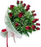 Artvin internetten çiçek satışı  11 adet kirmizi gül buketi sade ve hos sevenler