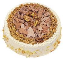 Karamelli 4 ile 6 kisilik yas pasta  Artvin çiçek yolla