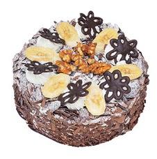 Muzlu çikolatali yas pasta 4 ile 6 kisilik   Artvin uluslararası çiçek gönderme