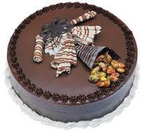 Çikolatali yas pasta 4 ile 6 kisilik  leziz  Artvin çiçek mağazası , çiçekçi adresleri