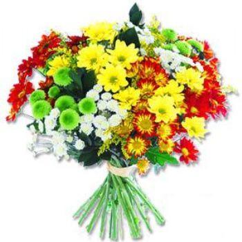 Kir çiçeklerinden buket modeli  Artvin online çiçek gönderme sipariş