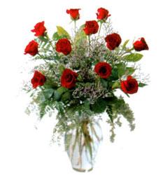 Vazo içerisinde 11 kirmizi gül  Artvin çiçek siparişi vermek