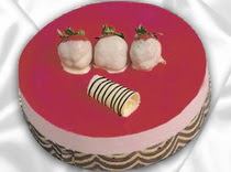 pasta siparisi 4 ile 6 kisilik yas pasta çilekli yaspasta  Artvin çiçek servisi , çiçekçi adresleri