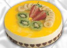 pasta gönderme 4 ile 6 kisilik yas pasta muzlu yaspasta  Artvin çiçek mağazası , çiçekçi adresleri
