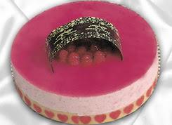 pasta siparisi 4 ile 6 kisilik yas pasta framboaz yaspasta  Artvin güvenli kaliteli hızlı çiçek