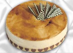 taze pasta 4 ile 6 kisilik yas pasta karamelli yaspasta  Artvin çiçekçiler