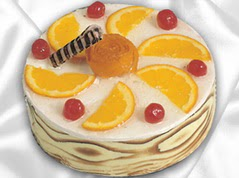 lezzetli pasta satisi 4 ile 6 kisilik yas pasta portakalli pasta  Artvin çiçekçi mağazası