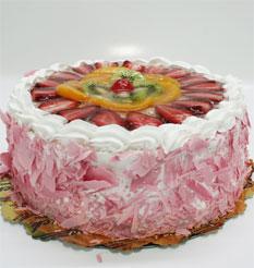 görsel pastacilar 4 ile 6 kisilik yas pasta karisik meyvali  Artvin çiçek online çiçek siparişi
