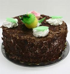 4 ile 6 kisilik yas pasta çikolatali leziz pastane ürünü  Artvin cicekciler , cicek siparisi