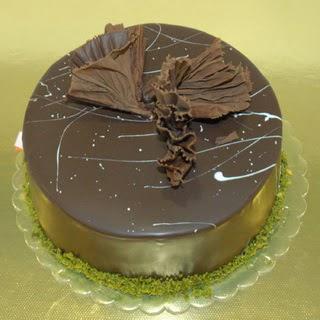 pastaci ustamizdan 4 ile 6 kisilik fistikli çikolatali yaspasta  Artvin çiçek servisi , çiçekçi adresleri