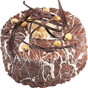 pasta satisi 4 ile 6 kisilik çikolatali yas pasta  Artvin İnternetten çiçek siparişi