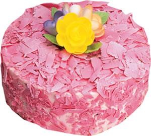 pasta siparisi 4 ile 6 kisilik framboazli yas pasta  Artvin çiçek yolla