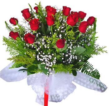 11 adet gösterisli kirmizi gül buketi  Artvin internetten çiçek satışı
