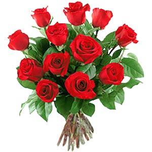 11 adet bakara kirmizi gül buketi  Artvin güvenli kaliteli hızlı çiçek