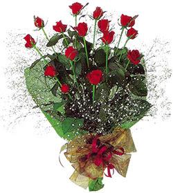 11 adet kirmizi gül buketi özel hediyelik  Artvin çiçekçi mağazası