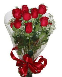Çiçek sade gül buketi 7 güllü buket  Artvin online çiçek gönderme sipariş