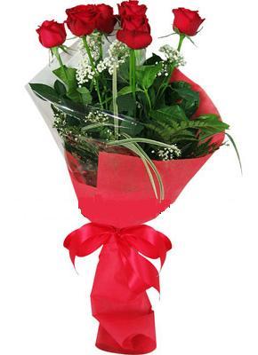 7 adet kirmizi gül buketi  Artvin çiçek yolla , çiçek gönder , çiçekçi