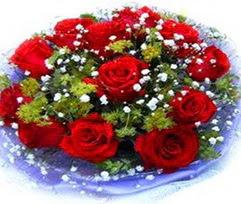 9 adet kirmizi güllerden buket  Artvin çiçekçi telefonları