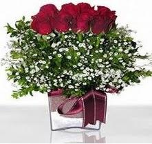 Artvin internetten çiçek satışı  mika yada cam vazo içerisinde 7 adet gül