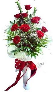 Artvin ucuz çiçek gönder  10 adet kirmizi gül buketi demeti