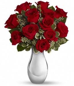 Artvin çiçek siparişi vermek   vazo içerisinde 11 adet kırmızı gül tanzimi