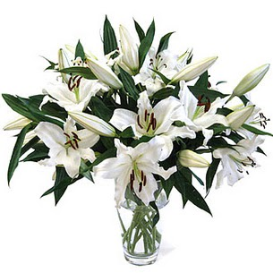 Artvin çiçekçi telefonları  3 dal görsel casablanca vazo tanzimi