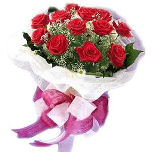 Artvin çiçek satışı  11 adet kırmızı güllerden buket modeli