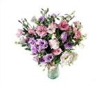 Artvin çiçek yolla , çiçek gönder , çiçekçi   Vazoda karisik kalite lisyantusler