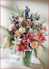 Artvin cicek , cicekci  Kaliteli vazoda mevsim çiçekleri