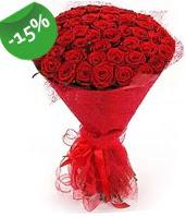 51 adet kırmızı gül buketi özel hissedenlere  Artvin çiçek siparişi sitesi